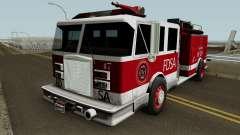 Firetruck Remastered для GTA San Andreas