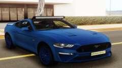 Ford Mustang GT 2018 Blue для GTA San Andreas