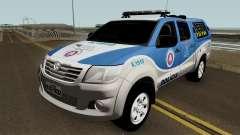 Toyota Hilux PETO CIA Jequie для GTA San Andreas
