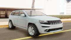 Jeep Grand Cherokee SRT 2014 White для GTA San Andreas