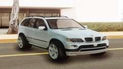 BMW X5 White Stock для GTA San Andreas