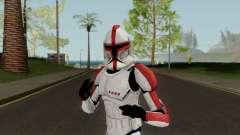 Clone Trooper Red (Star Wars The Clone Wars) для GTA San Andreas