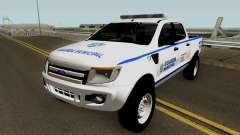 Ford Ranger Guarda Municipal de Canoas для GTA San Andreas