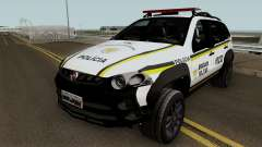 Fiat Palio Weekend Brazilian Police для GTA San Andreas