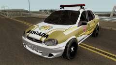 Chevrolet Corsa Brazilian Police для GTA San Andreas