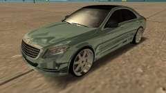 Mersedes-Benz S63 W222 Bulkin Amoral для GTA San Andreas