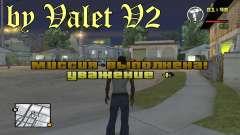 Fonts by Valet V2 для GTA San Andreas