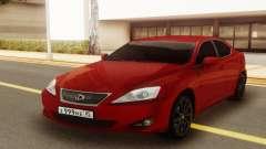 Lexus IS 250 V6 для GTA San Andreas