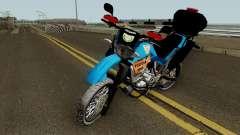 Yamaha XT660 PMERJ BPVE для GTA San Andreas