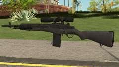 COD-MWR M14 Sniper для GTA San Andreas