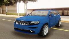 Jeep Grand Cherokee SRT 2014 для GTA San Andreas