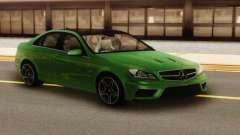 Mercedes-Benz C63 AMG Green для GTA San Andreas