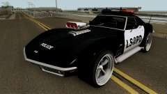 Chevrolet Corvette C3 Stingray Police LSPD V2 для GTA San Andreas