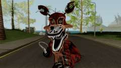 Nightmare Foxy (FNaF) для GTA San Andreas