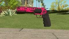 GTA Online Heavy Revolver Mk.2 Pink Skull
