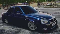 Lada Priora Blue для GTA 4