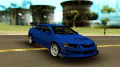 Mitsubishi Evolution 9 Blue для GTA San Andreas