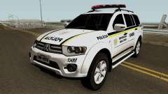 Mitsubishi Pajero Dakar Brazilian Police для GTA San Andreas