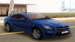 Mercedes-Benz CLS63 AMG Blue для GTA San Andreas