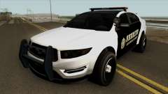 Ford Taurus Sheriff (Interceptor style) 2012 для GTA San Andreas
