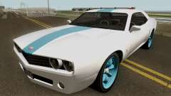 Dodge Challenger SRT Normal (Gauntlet) 2012 для GTA San Andreas