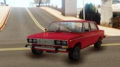 ВАЗ 2106 Красная классика для GTA San Andreas