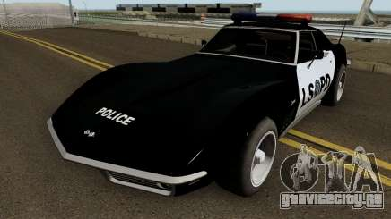 Chevrolet Corvette C3 Stingray Police LSPD для GTA San Andreas