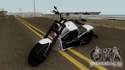 Western Motorcycle Nightblade GTA V HQ для GTA San Andreas