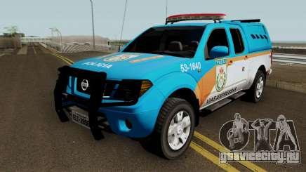 Nissan Frontier PMERJ BPVE 2013 для GTA San Andreas