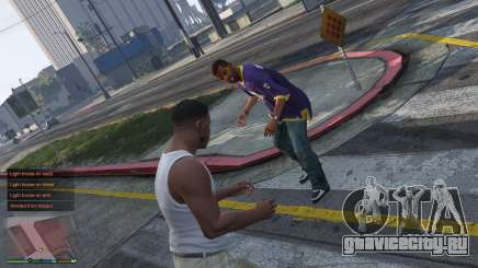 [GSW2] GunShot Wound 2 Realistic Damage System для GTA 5