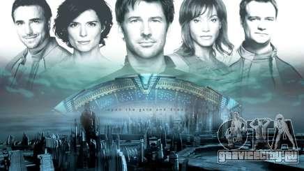 Загрузочный экран Stargate: Atlantis для GTA San Andreas