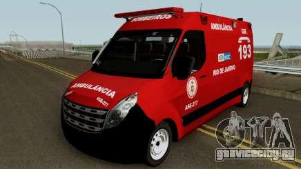Renault Master of CBMERJ для GTA San Andreas