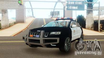 Jeep Grand Cherokee Police Edition для GTA San Andreas