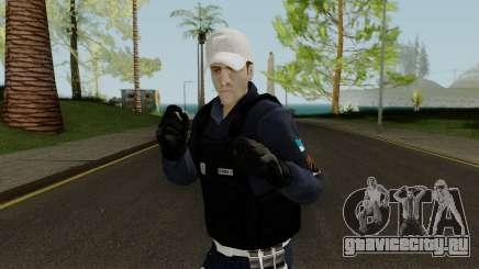Brazilian Police Skin 2 для GTA San Andreas