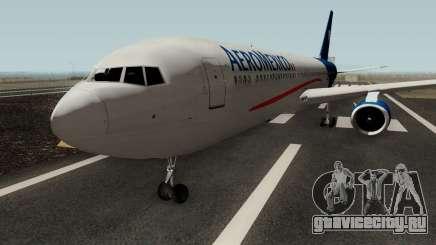 Boeing 767-300 Aeromexico для GTA San Andreas