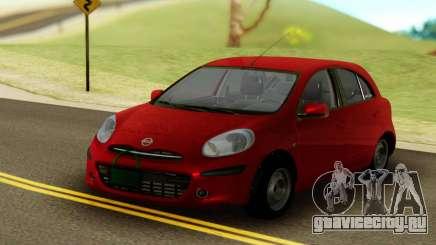 Nissan Micra ELLE для GTA San Andreas