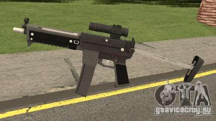 MP5 From SZGH для GTA San Andreas