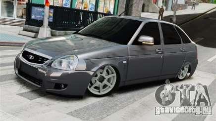 Lada Priora Grey для GTA 4
