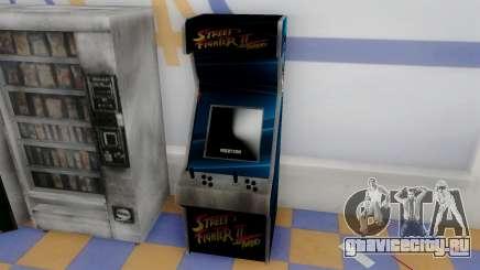 Fighting Arcade Cabinets для GTA San Andreas