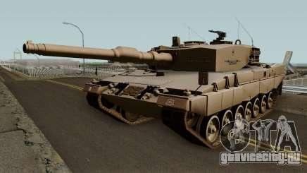 Leopard 2A4 (Ejercito de Chile) для GTA San Andreas