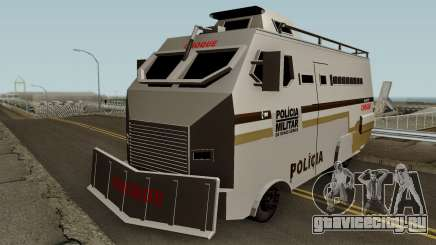 Blindado Choque PMMG Grande для GTA San Andreas