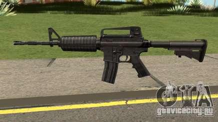 M4A1 Black High Quality для GTA San Andreas