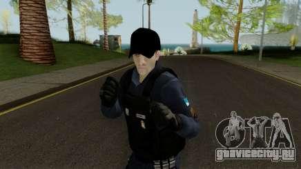 Brazilian Police Skin 1 для GTA San Andreas
