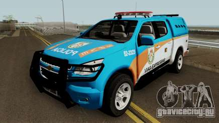 Chevrolet S10 PMERJ BPVE для GTA San Andreas