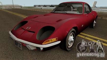 Opel GT 1900 1968 (US-Spec) для GTA San Andreas