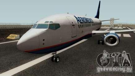 Boeing 737-300 Aeromexico для GTA San Andreas