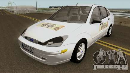 Ford Focus (Bonjour Bar Delivery Food) 2004 для GTA San Andreas
