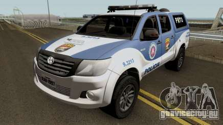 Toyota Hilux 2015 PETO CIPM POJUCA для GTA San Andreas