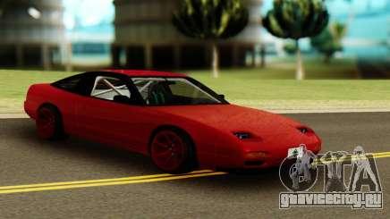 Nissan 240SX Red для GTA San Andreas