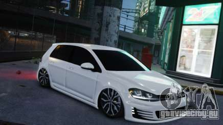 Volkswagen Golf White для GTA 4